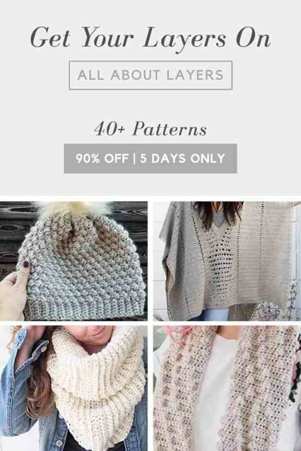 All About Layer Bundle with over 40 Crochet Patterns and more