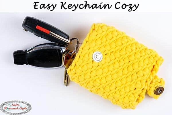 Free Crochet Easy Key chain Cozy Pattern