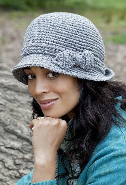 elegant hat free crochet pattern popular