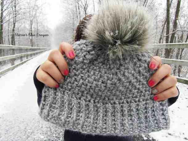 Snowden Beanie Popular free crochet pattern
