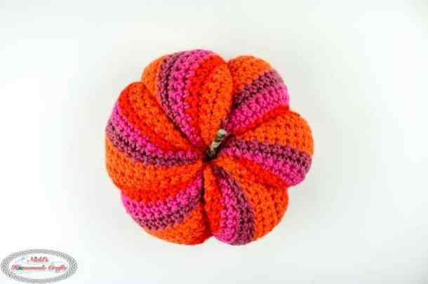Spiral Pumpkin from the top