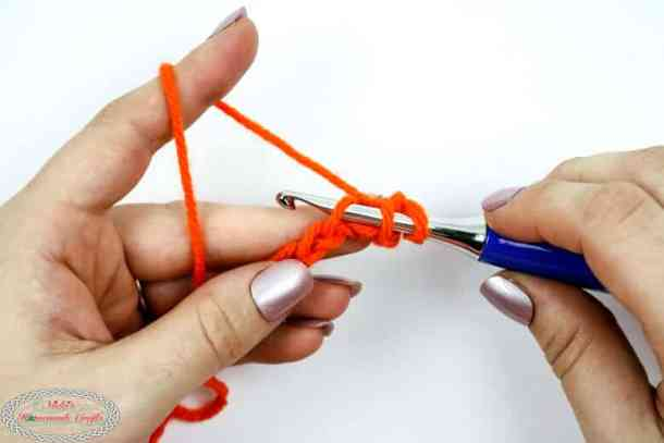 starting linked single crochet