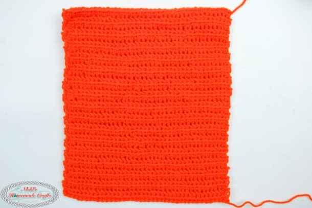 Bag side of Pumpkin Trick or Treat Bag