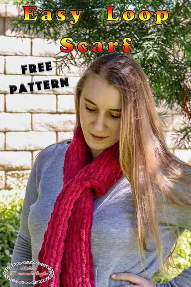 Knit the Easy Loop Scarf