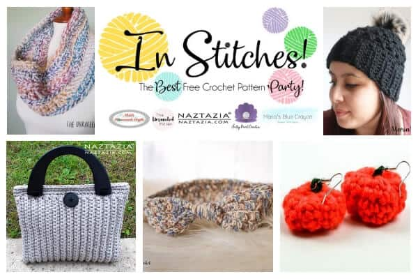In Stitches - Best free Crochet Pattern Link up party
