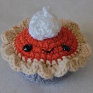 Pumpkin Spice Pie Free Crochet Pattern