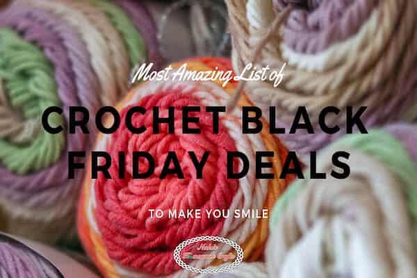 Black Friday till Cyber Monday Deals in Crochet