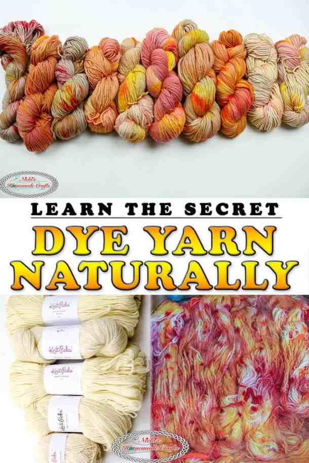 Dye Yarn Naturally with Food