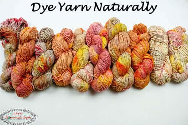Dye Yarn Naturally