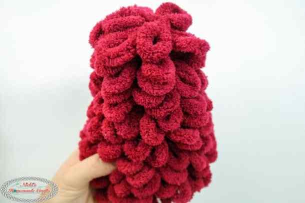 Foam Cone Loop Yarn Christmas tree