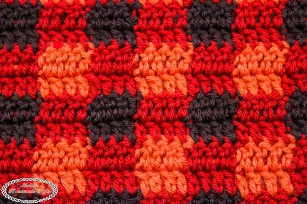 Double Crochet Plaid