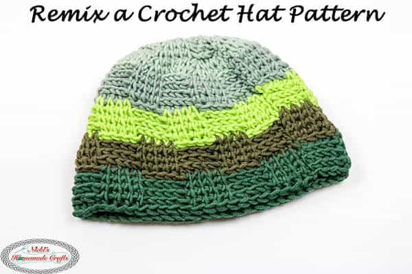 Remix a Hat Crochet Pattern easily