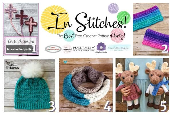 In Stitches #25 - best free Crochet pattern linkup party