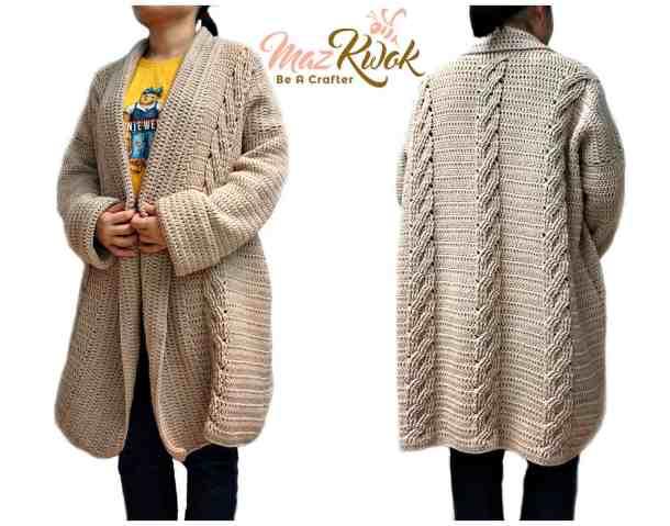 Snuggli Crochet Cardigan