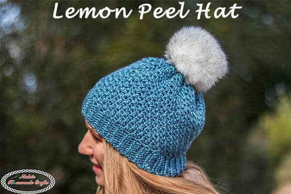 Crochet the Lemon Peel Hat