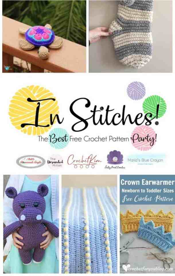 In Stitches #27 - Free Crochet Pattern Party