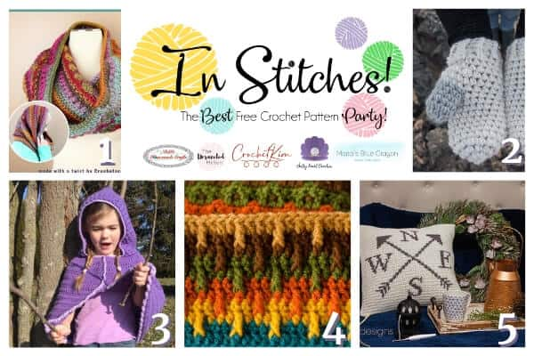 Free Crochet Pattern Link up Party 28