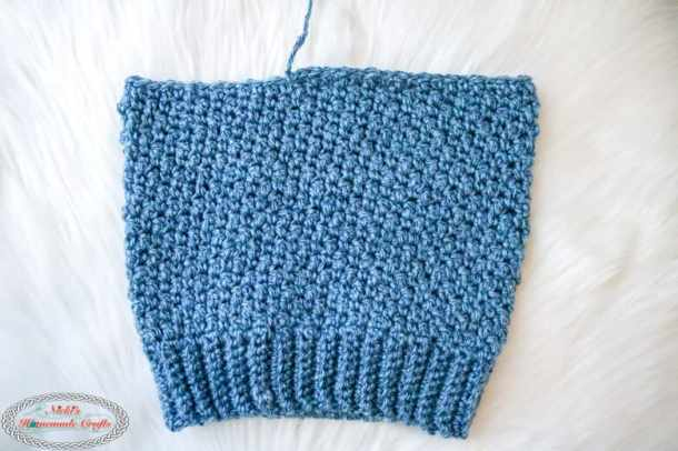 Crocheting the Lemon peel Hat