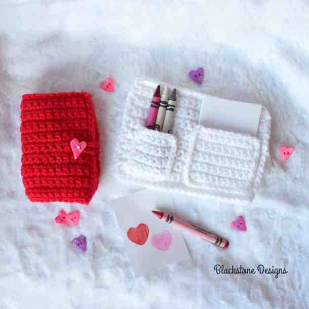 Love Note Pad - free Crochet pattern - Countdown to Valentine's Day