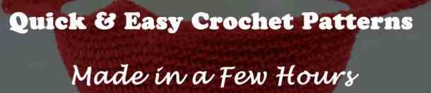 Quick & Easy Crochet pattern Ebook