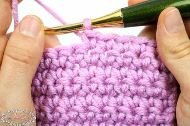 Single Crochet Yarn Over vs Yarn Under - Crochet Correctly