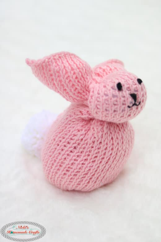 Big Crochet Bunny from Square - Free Pattern