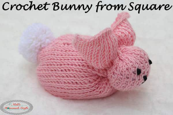 Crochet Bunny from Square - Free Pattern