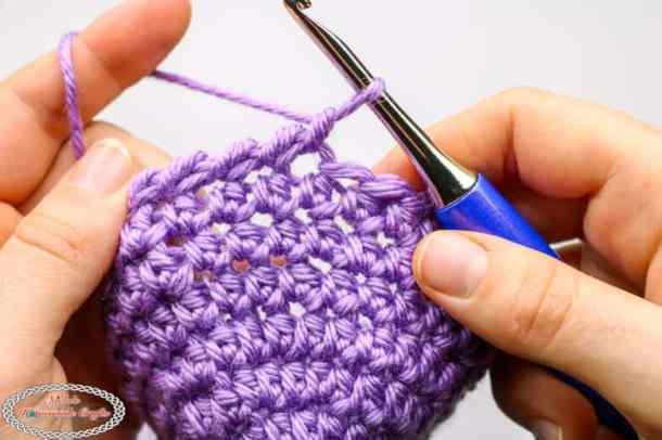 Crochet Crab Stitch aka Reversed Single Crochet Tutorial