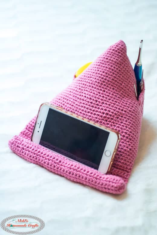 Phone Stand Crochet Pattern