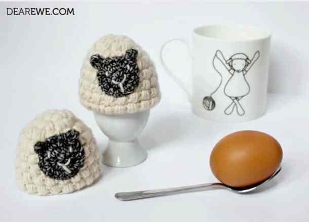 Egg Cozy - Dear Ewe