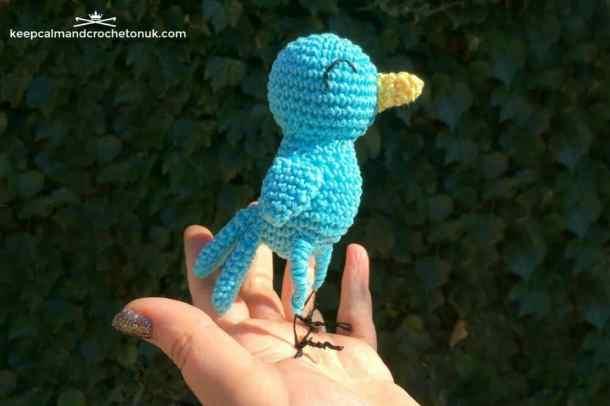 Blue Bird - Keep Calm and Crochet on UK