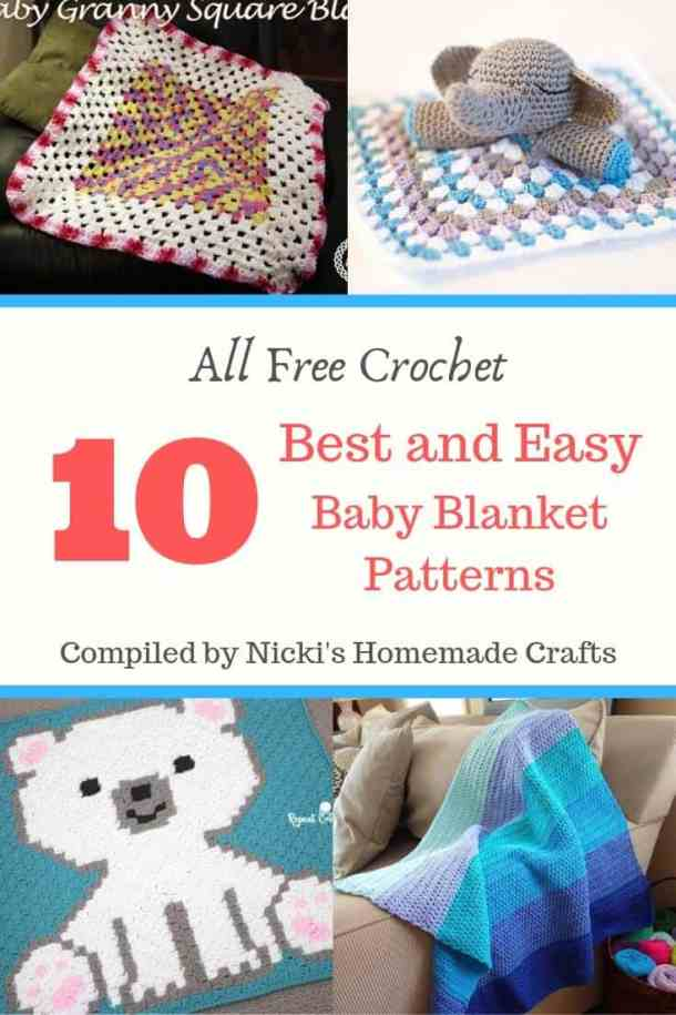 Best and Easy Baby Blanket Crochet patterns