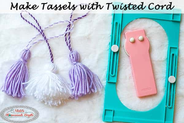 Twisted Cord Tassels