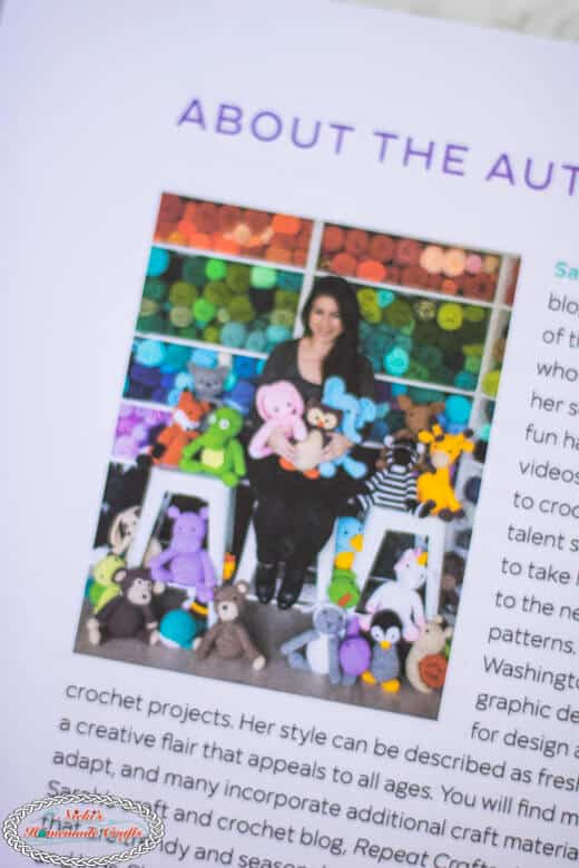 Sarah Zimmerman of Crochet Cute Critters Book
