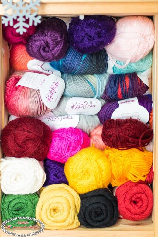 Organize Yarn the Right Way - Yarn by Brand