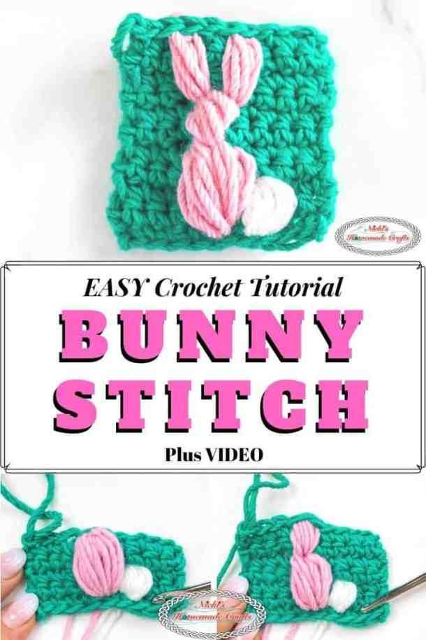 Crochet Bunny Stitch Tutorial