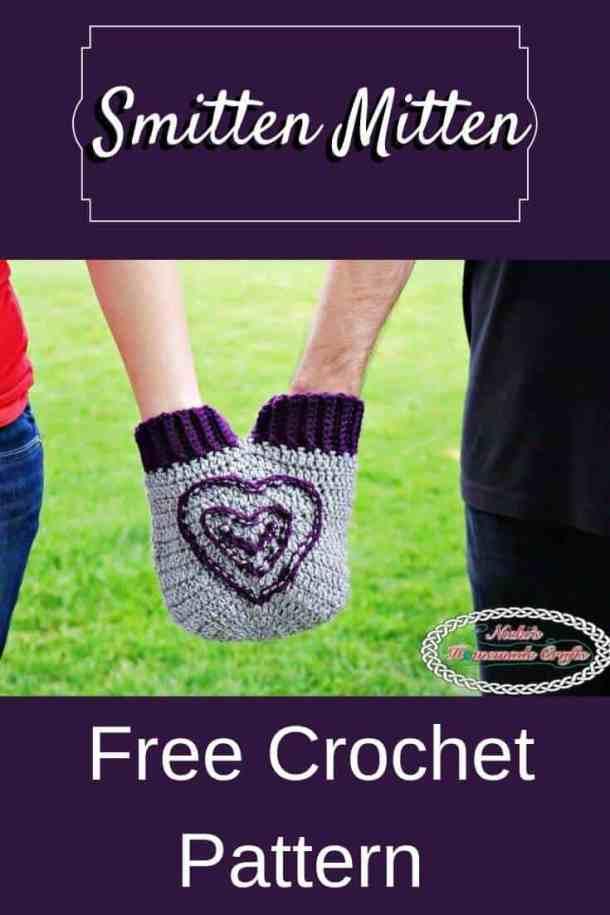 Smitten Mitten Crochet Pattern