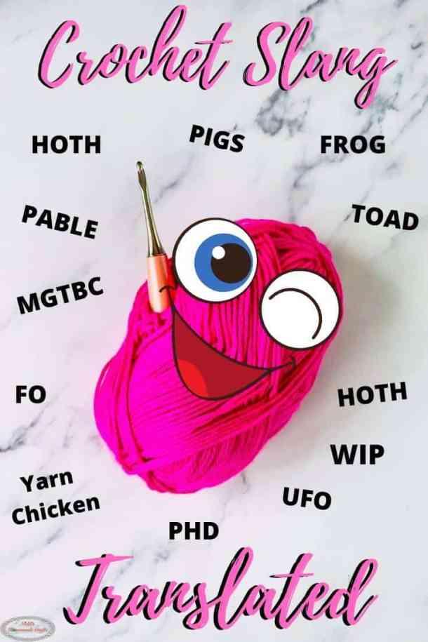 Crochet Slang Terms Translated