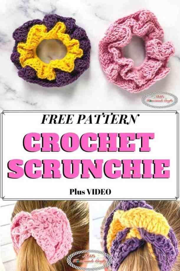 Free Scrunchy Crochet Pattern