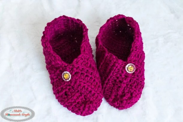 Crochet Slippers from Square - Free Pattern
