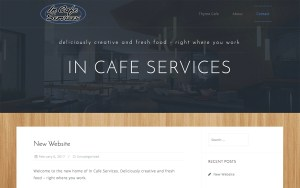 In Cafe Services Screenshot