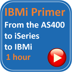 IBM i Primer - From the AS400 to ISERIES to IBM i 1