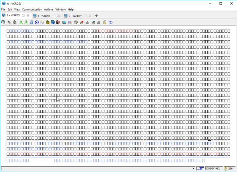 IBM i ACS 5250 EMULATOR FONT - and other ridiculous mumbo jumbo 20