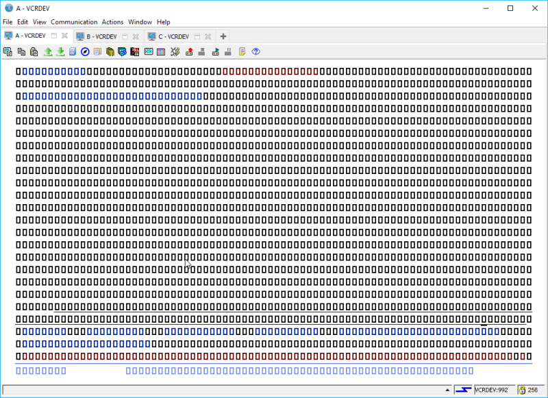 IBM i ACS 5250 EMULATOR FONT - and other ridiculous mumbo jumbo 21