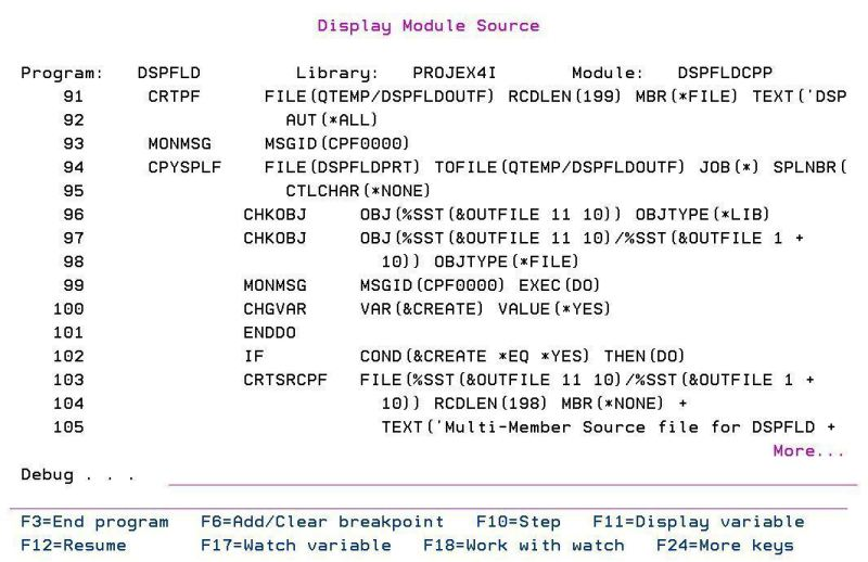 How to encrypt or hide CL/RPG Source Code in ILE Debug Views 1