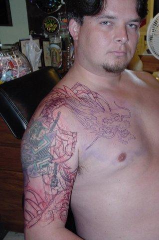 drawing tattoo 2002