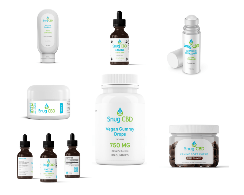 snug cbd product like organic cbd hemp oil