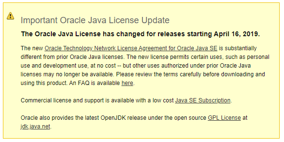 I need more Java! OpenJDK to the rescue :) 1