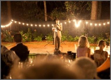 ideas for wedding MC