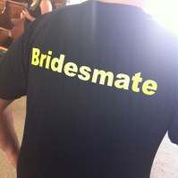 Having a female bridesmaid isn't a law